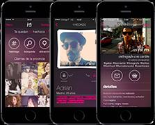 'aplicación iPhone